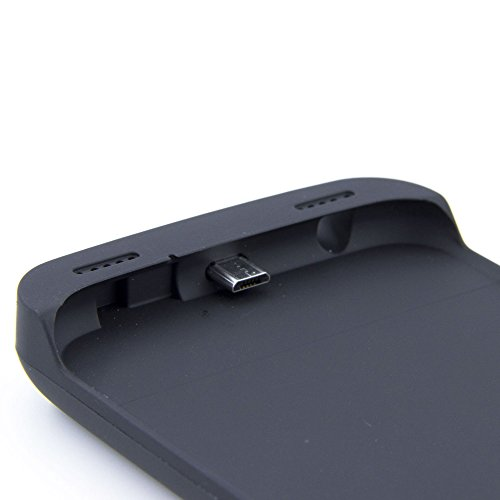 Galaxy S6 Battery predicament extremely thin handheld Rechargeable External Battery Backup power Bank Charger predicament Cover For Samsung Galaxy S6 along with Kickstand Black Charger Cases