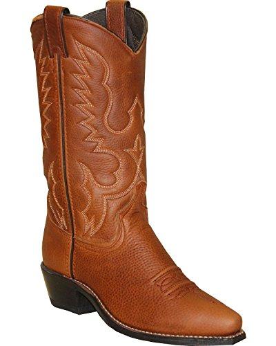 Abilene Mujeres Bota Soft Textured Western Snip Toe - 9129 Marrón