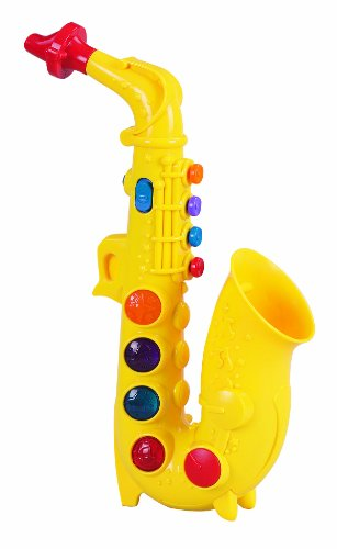 Small World Toys Preschool -Play At Home Saxophone B/O