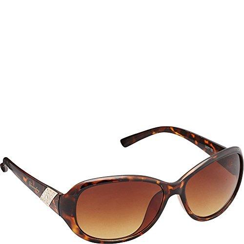 union-bay-womens-u277-ts-oval-sunglasses-tortoise-60-mm
