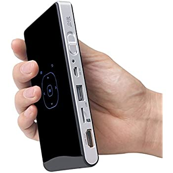 iCodis CB-100S Mini Portable Projector, Android OS, 100 ANSI Lumens, 30000 hours lamp life, Support HD playback, Integrated Battery, Mobile Pico Projectors
