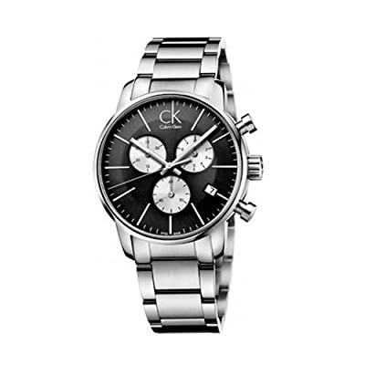 Men's Calvin Klein ck City Chronograph Dress Watch K2G2714X