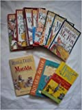Dahl Books (12): Esio Trot; Charlie and the Chocolate Factory, Fantastic Mr. Fox, Matilda; the Magic Finger;going Solo, the Witches;the Giraffe, Pelly and Me; Georges Marvelous Medicine; Danny Champion of the World (The Magical World of Dahl)