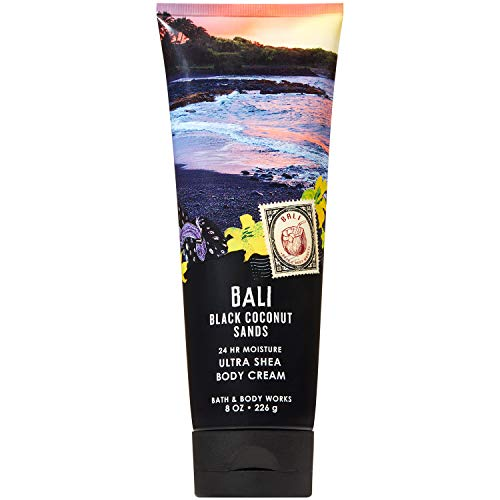 (Bath and Body Works BALI - BLACK COCONUT SANDS Ultra Shea Body Cream 8 Ounce (2019)