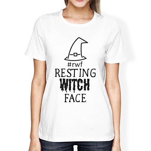 corta en bruja Rwf Talla Camiseta nica para 365 Resto manga mujer Printing reposo de de q7pzngwcIB
