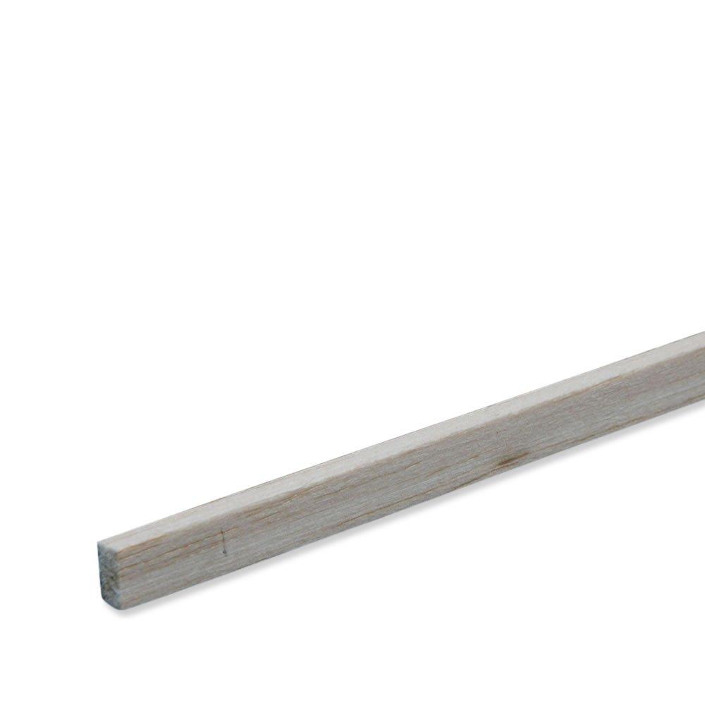 Balsaholz Bastel-Holz Modellbau 1000 x 10 x 5 mm