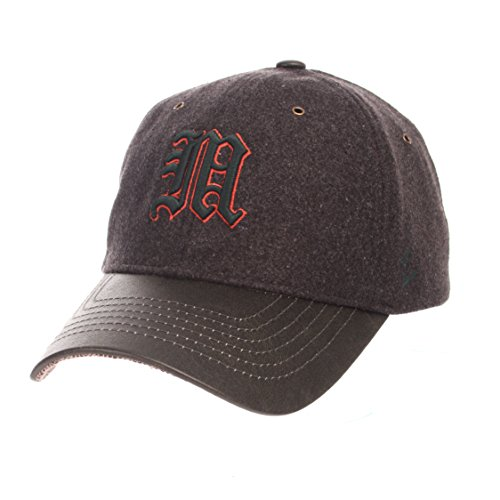NCAA Miami Hurricanes Adult Men Alum Heritage Collection Hat, Adjustable, Heather Gray