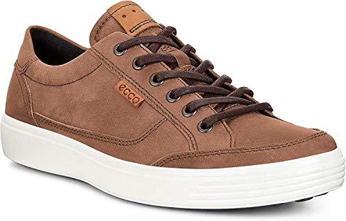ECCO Men's Soft 7 Fashion Sneaker, Cocoa Brown,42 EU / 8-8.5 US