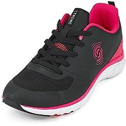 Zumba Fitness LLC Women's Strong by Zumba Fly Fit Sneaker, Black, 7 Regular US