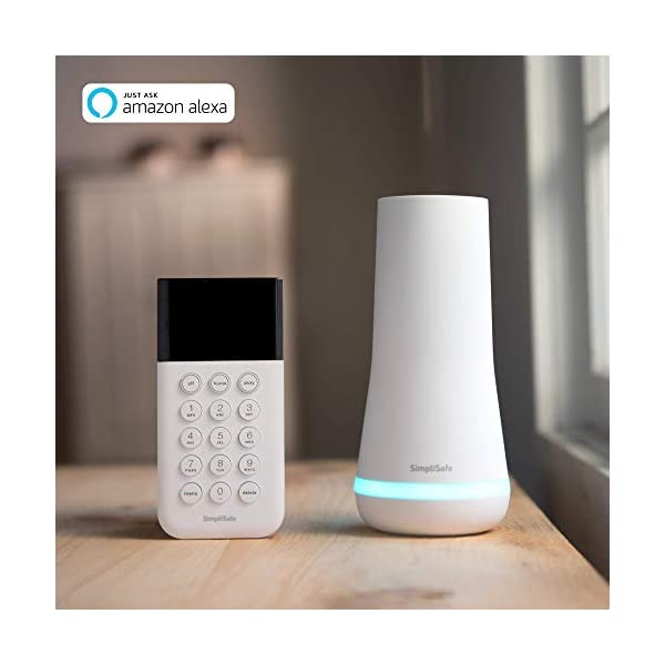 SimpliSafe 9 Piece Wireless Home Security System w/HD Camera - Optional 24/7 Professional Monitoring - No Contract… 2