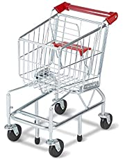 [US Deal] Save on Melissa & Doug Toy Shopping Cart with Sturdy Metal Frame. Discount applied in price displayed.