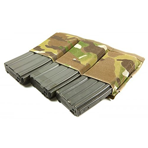 Blue Force Gear HW Ten Speed Triple Magazine M4 Pouch, Camo (M4 Triple Mag Pouch)