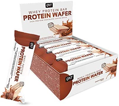QNT Protein Wafer 32%, Belgian Chocolate (12x 35 g Riegel)