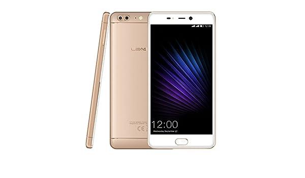 Smartphone LEAGOO T5 5.5 Pulgadas 4 G phablet Android 7.0 mtk6750t ...