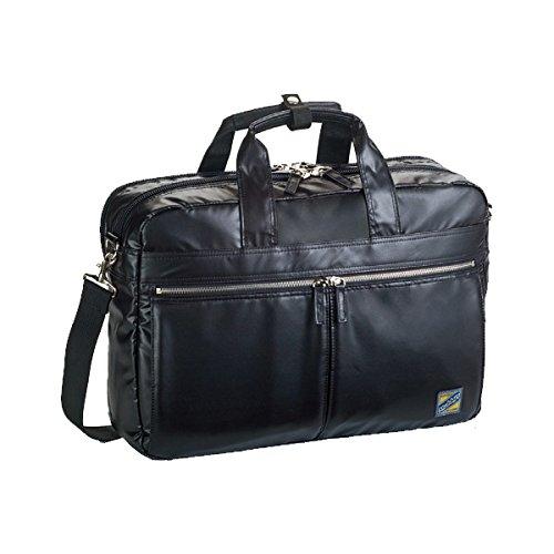 モビーズ シリコンコート ビジネスバッグ ブリーフケース メンズ 26555 ブラック バッグ ビジネスバッグ mirai1-519741-ak [並行輸入品] [簡易パッケージ品] B06Y1SDLPL