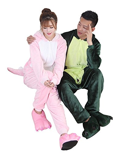 Duraplast Adult Dragon Costume Hoodie Jumpsuit Lounge Outwear Flannel