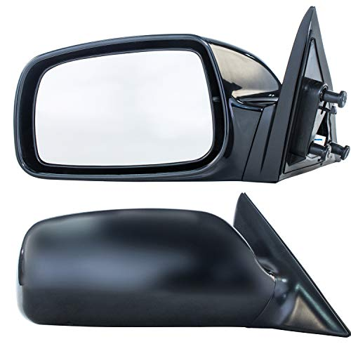 OE Replacement Toyota Camry Passenger Side Mirror Outside Rear View Unknown Partslink Number TO1321215