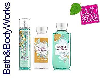 Bath Body Works Magic in the Air Mist, Lotion and Shower Gel