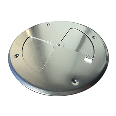 """BBQ Smoker Supply wood stove ajustable grill vent damper 8"""" inch firebox QTY1 AL .#GG4346 43ETR98-Y530974"""