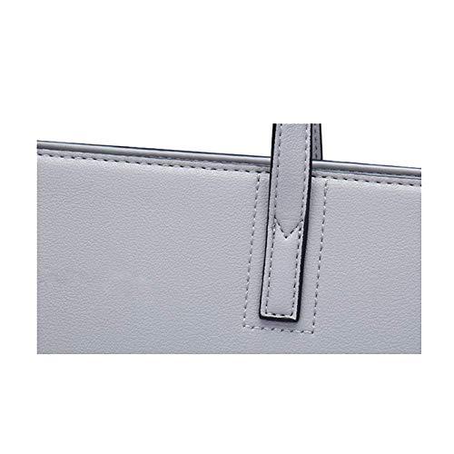 AJLBT Capacité à Sac Grey Version Grande Simple Sac élégante Coréenne à Dames Main Bandoulière Marée rr5a0pq