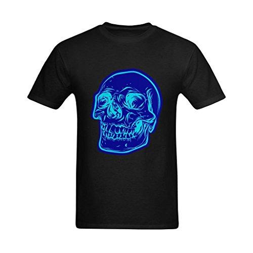 Neryaing Men's Dangerous Skull Drawing Printed Tshirt 2XL ()