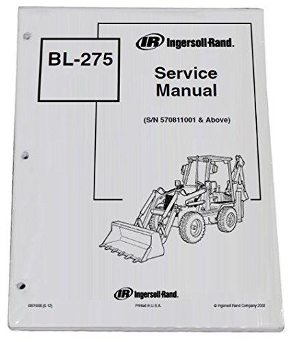 amazon com bobcat bl275 loader backhoe repair workshop service rh amazon com Bobcat Backhoe Attachment Bobcat Backhoe Seat