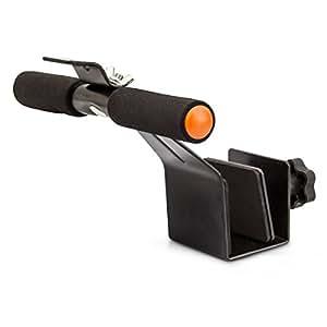Relaxdays Abdominal Pull-Up - Extensor de pecho para fitness, color negro, talla STANDARD
