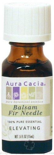 Aura Cacia Pure Essential Oil Fir Needle Balsam – 0.5 Oz, 2 pack, Health Care Stuffs