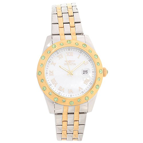 Invicta Angel Silver Dial Two-tone Ladies Watch 18983