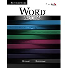 Microsoft Word 2013 (Signature Series) (with out CD-Rom)