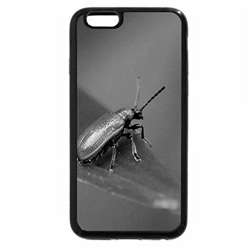 iPhone 6S Plus Case, iPhone 6 Plus Case (Black & White) - A Bugs