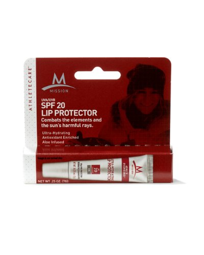 Mission Athletecare SPF 20+ Lip Protector, 25-Ounce Tube, Outdoor Stuffs