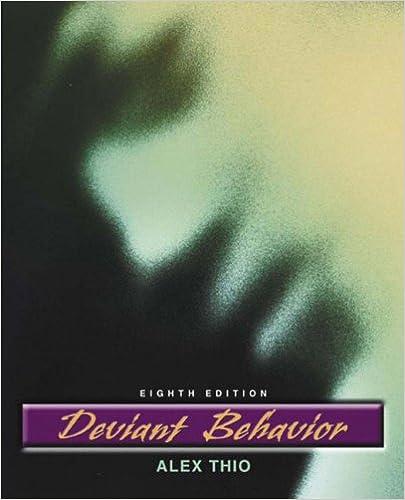 Amazon deviant behavior 8th edition 9780205454785 alex deviant behavior 8th edition 8th edition fandeluxe Gallery