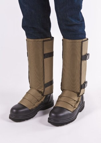Snake Gaiters Bite Protection Khaki