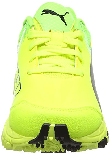 Puma Evospeed 4.5 Fh, Botas de Fútbol para Hombre Amarillo (Safety Yellow-puma Black-green Gecko 04)