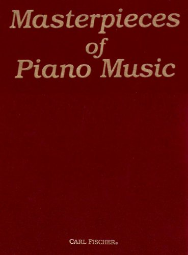 Masterpieces of Piano Music