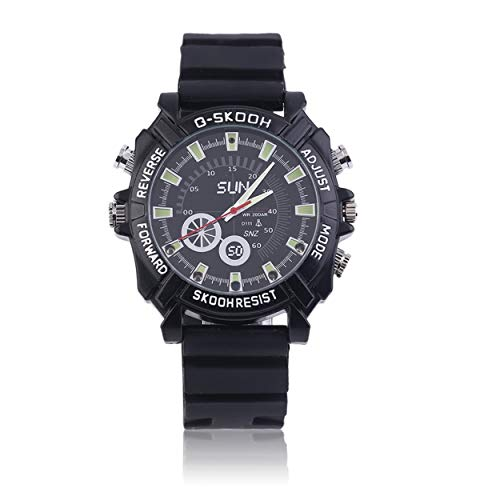 Hd Waterproof Spy Watch Camera Camcorder 8Gb - 7