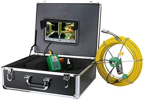 20-50M下水道管のパイプラインドレン検査システムは、10インチのモニター1000TVLスネーク防水パイプ&ウォールビデオ17ミリメートルカメラドレイン