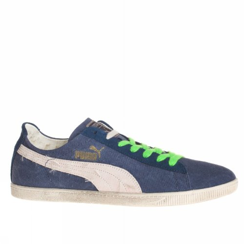 Canvas Baskets 43 Washed Blanc Bleu Puma Glyde Mixte Et Low FPqdqOwx