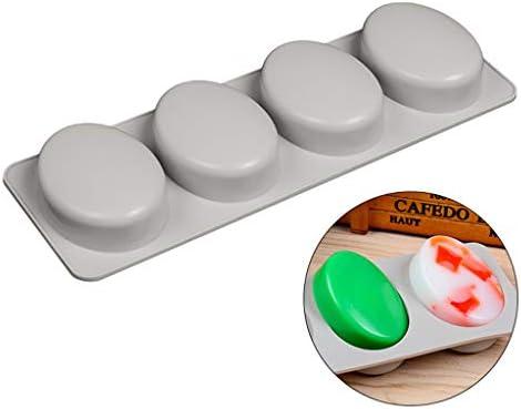 Moldes de silicona hechos a mano para jabón, para hacer jabones ...