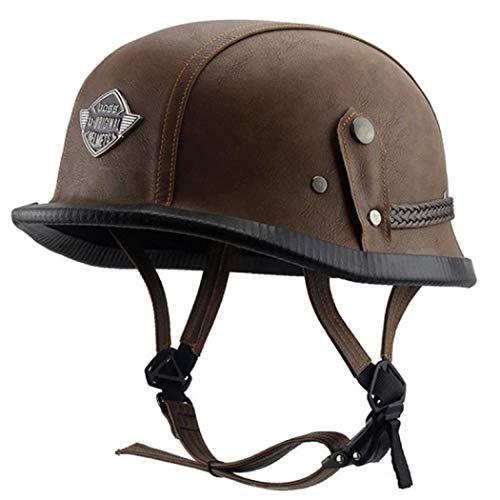 SCHANIN Dual Certified CPSC Multi Sport Adult Bike and Skateboard Adjustable Dial Helmet (Brown,590-600mm)