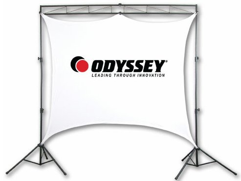 NEW! Odyssey LTMVSS8 Pro DJ V-SS8 Mobile Video Projection Display Screen System Rear Projection Systems