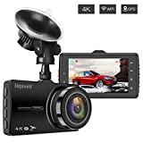 Dash Cam with GPS and Wifi, Car Dash Camera, TOGUARD 4K Ultra HD