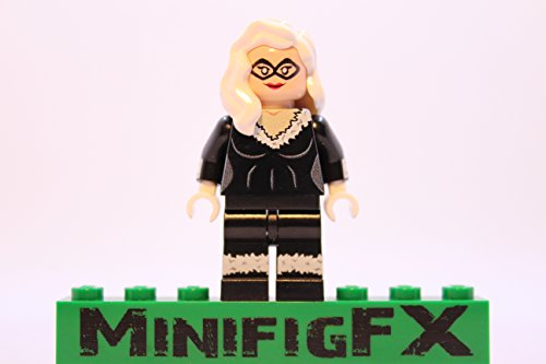 Lego Custom Printed Black Cat Minifig Marvel Super Hero Felicia Hardy]()