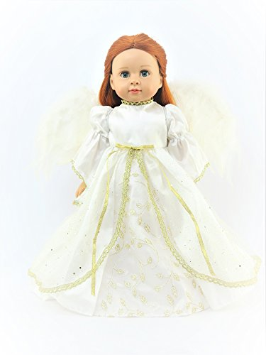 """""""Joy to The World"""" Christmas Angel Outfit -Fits 18"""
