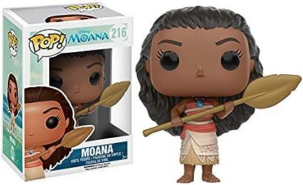 Funko - Figurine Disney Vaiana / Moana - Moana With Oar Exclu Pop 10cm - 0889698114462: Amazon.es: Juguetes y juegos