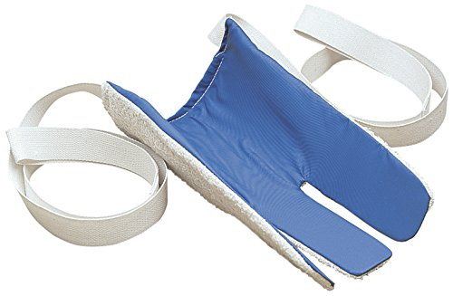 FEI 86-0002 Deluxe Sock and Stocking Aid, 3-Finger Design, Nylon, Molded Insert, Hand Washable, 2-Long Loop Handles by Eif