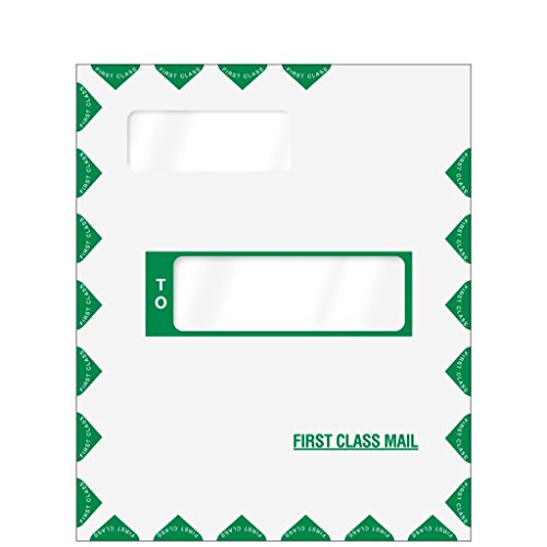 First Class Mailing Envelope – For Tax Returns- Offset Window - Peel & Seal ()