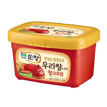 Sunchang Gochujang (hot pepper bean paste) - 1KG - Medium...