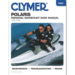 CLYMER POLARIS PERSONAL WATERCRAFT 1996-1998 ''Prod. Type: Boat Outfitting'' by OEM